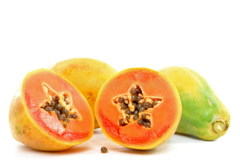 papaja zdjęcie royalty free