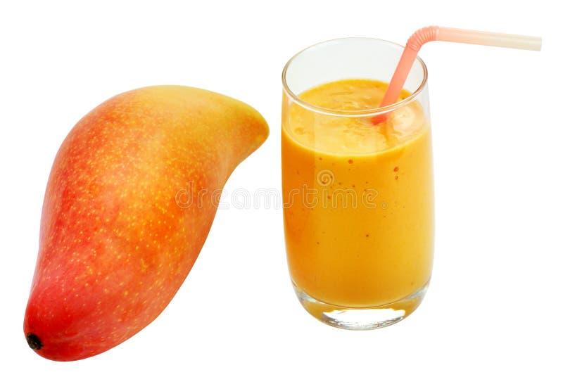 Papaja smoothies stock foto's
