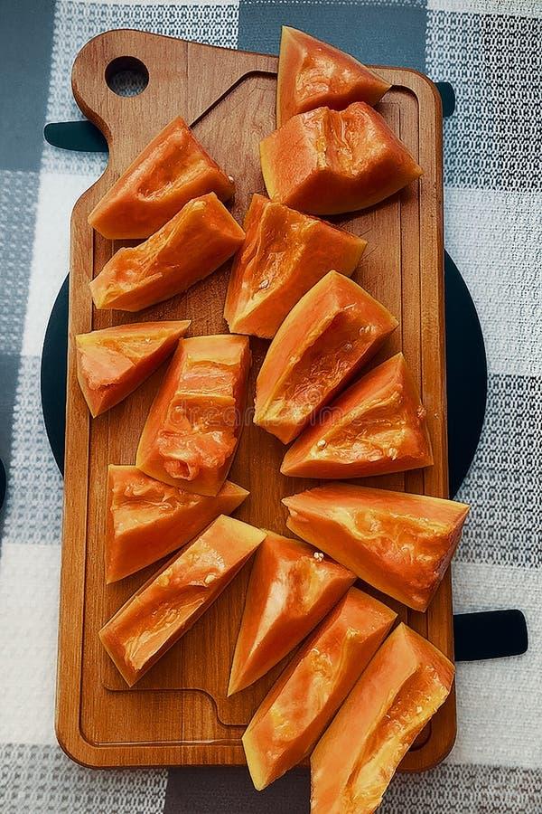 Papajafruit stock foto