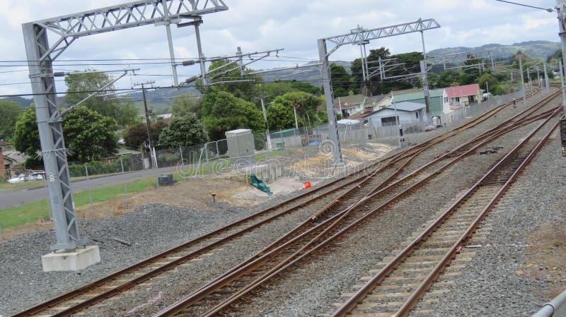 Papakura火车站 免版税库存图片