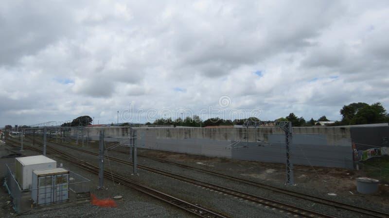 Papakura-Bahnhof stockbild