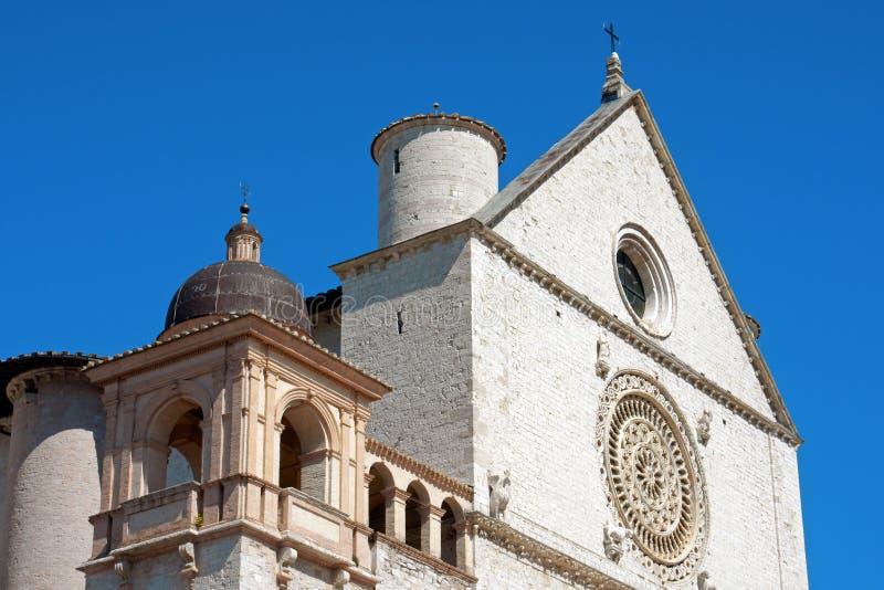 Papal Basilica of Saint Francis of Assisi stock images