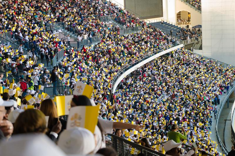 Papal visit to UAE 2019 stock photos