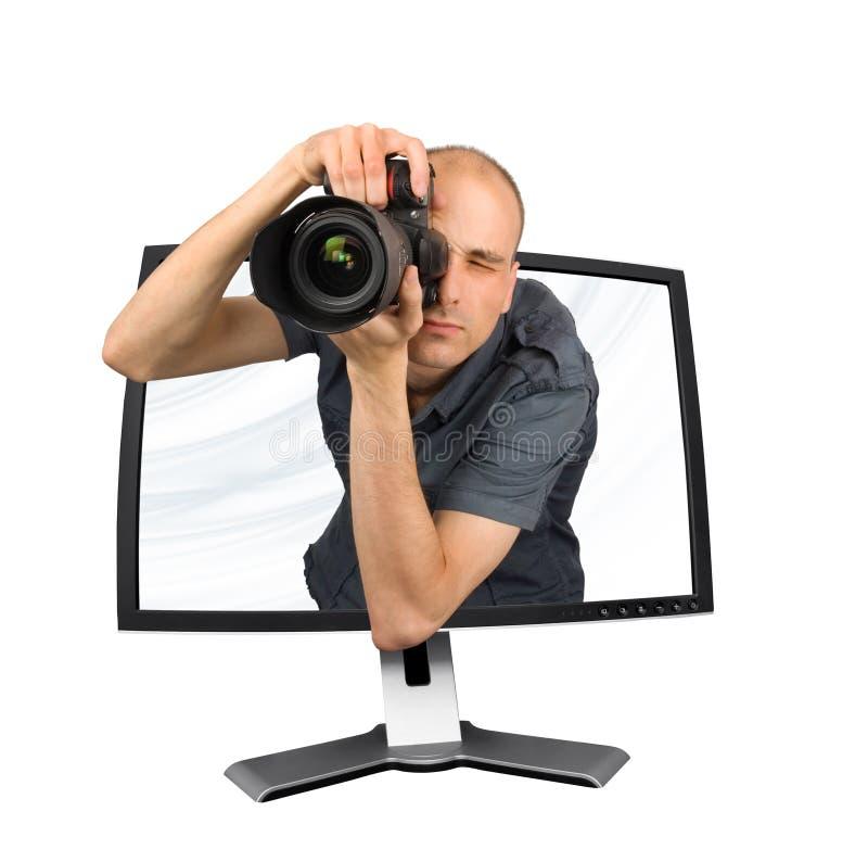 Paparazzi imagens de stock royalty free