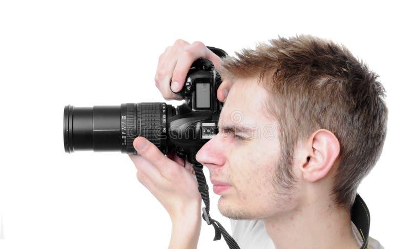 Paparazzi stock afbeelding