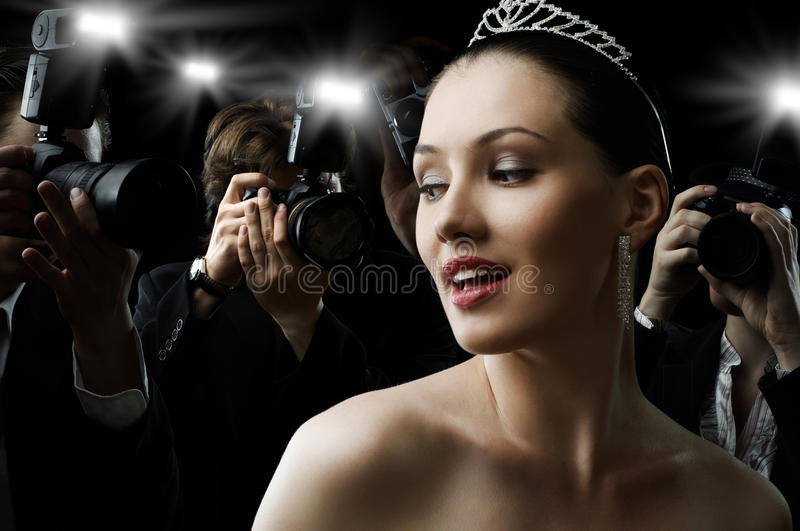 Download Paparazzi stock photo. Image of admire, idol, fame, actress - 15695450