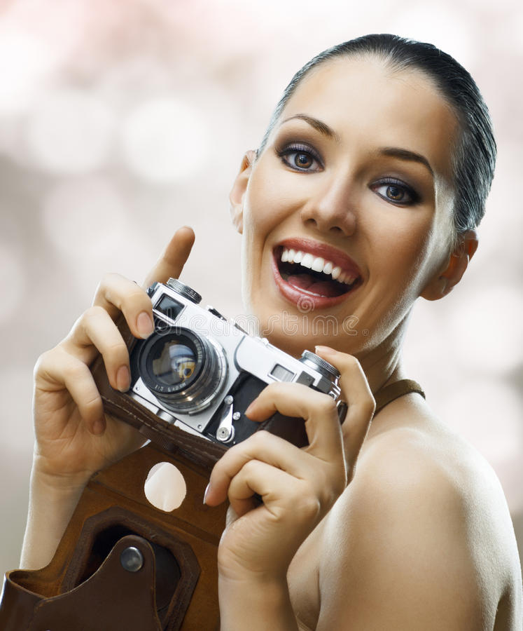 Download Paparazzi stock photo. Image of person, camera, smiling - 15898374