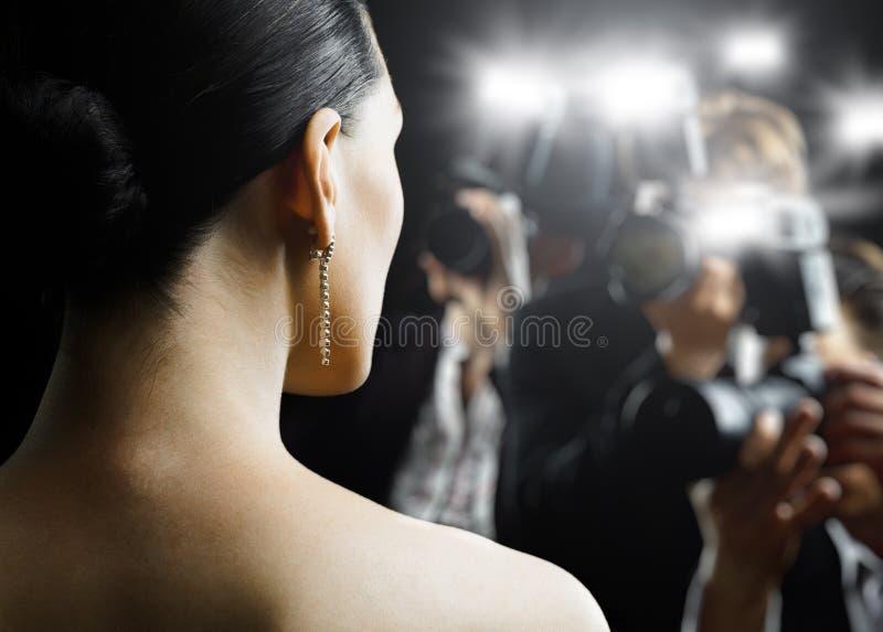 Paparazzi fotografia stock libera da diritti