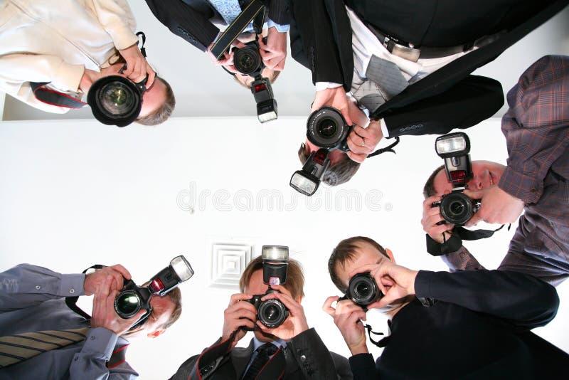 paparazzi zdjęcie stock