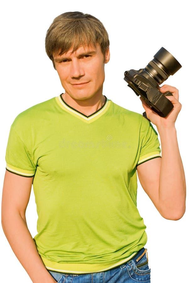 Paparazzi. stock foto's