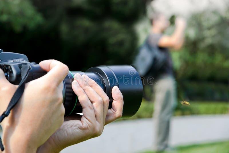 Paparazzis lizenzfreie stockfotos