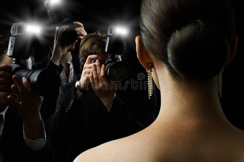 Paparazzis lizenzfreies stockbild