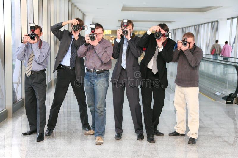 Paparazzis lizenzfreie stockbilder