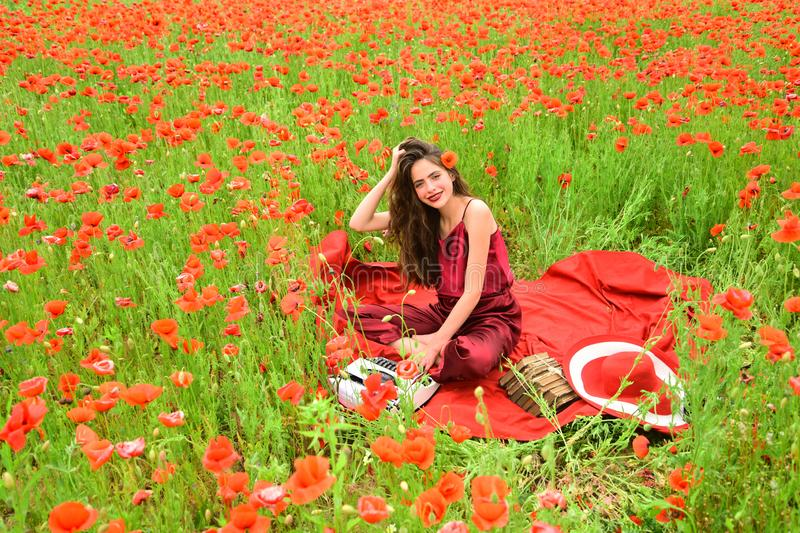 Papaver, Herinnering of Anzac Day stock fotografie