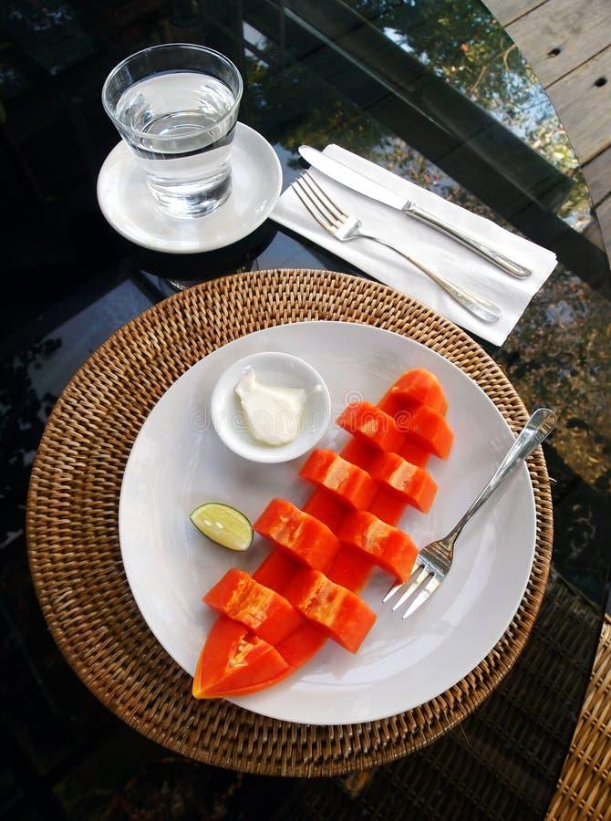 Papaya καρπός στοκ φωτογραφίες με δικαίωμα ελεύθερης χρήσης