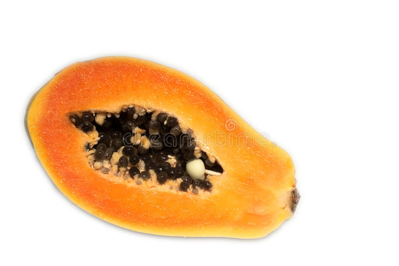 papaya στοκ εικόνα με δικαίωμα ελεύθερης χρήσης