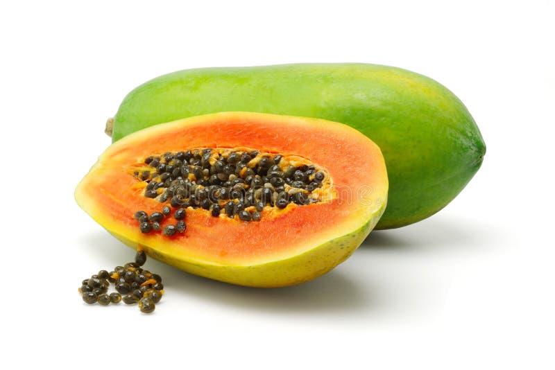 papaya arkivbild
