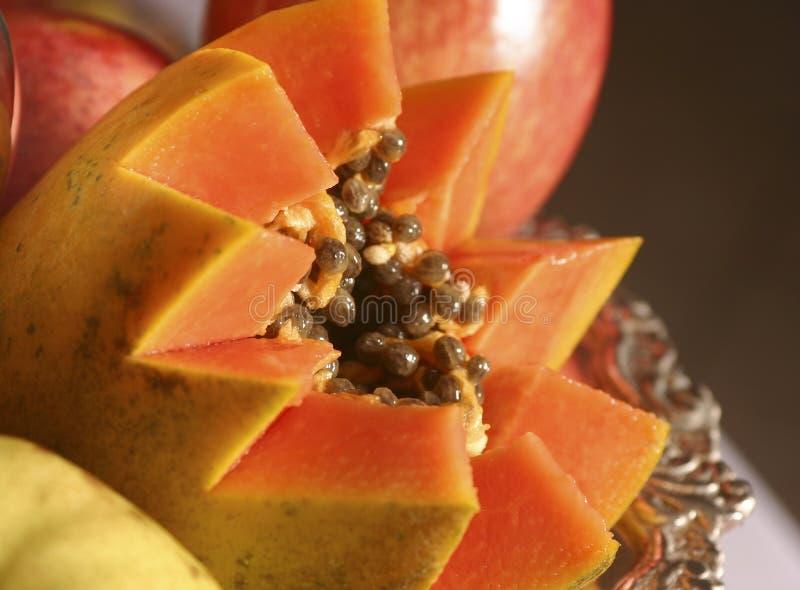 Papaya imágenes de archivo libres de regalías