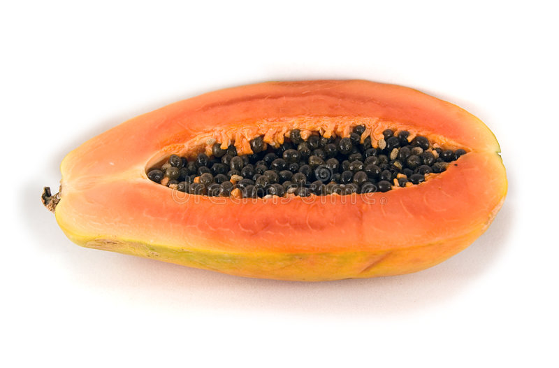 Download Papaya arkivfoto. Bild av isolerat, yellow, smaskigt, karibiskt - 233904