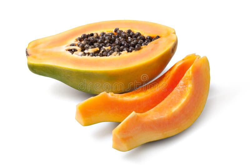 Papaya royaltyfri fotografi