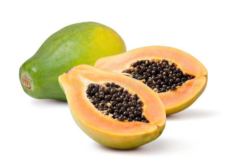 Papaya royaltyfria bilder