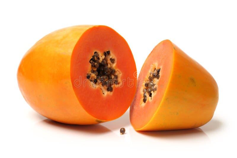 Papaya lizenzfreie stockfotos