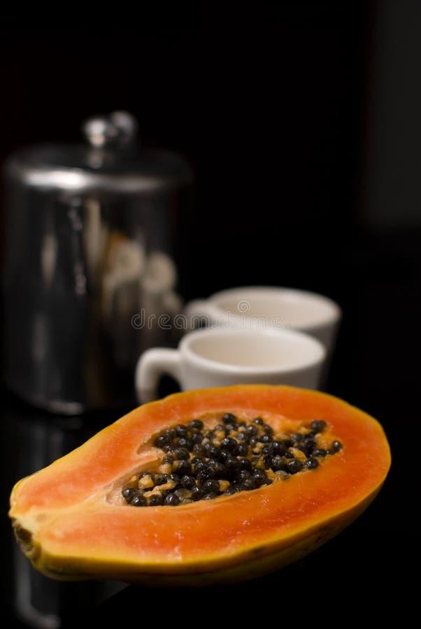 papaya imagen de archivo