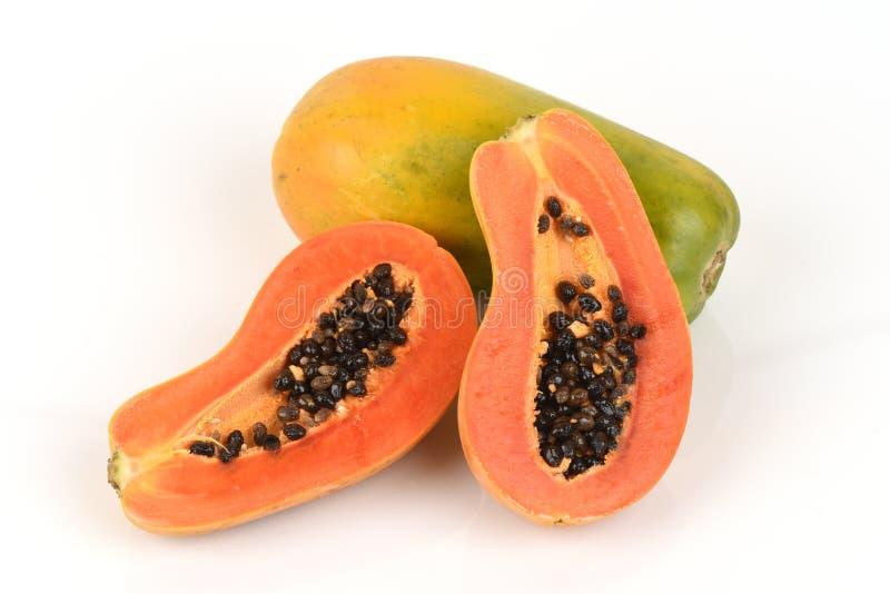 papaya fotos de archivo libres de regalías