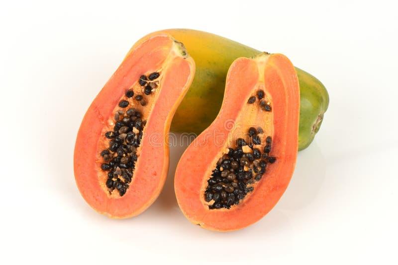 papaya foto de archivo libre de regalías
