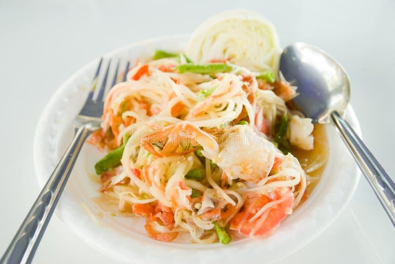 Download Papaya salad stock image. Image of chili, cuisine, culture - 28606463