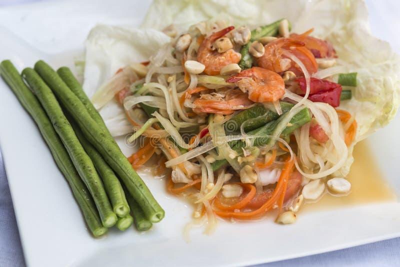 Download Papaya Salad stock image. Image of fork, refreshment - 38878503