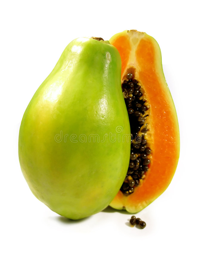 Free Papaya Sliced Royalty Free Stock Photo - 5289055