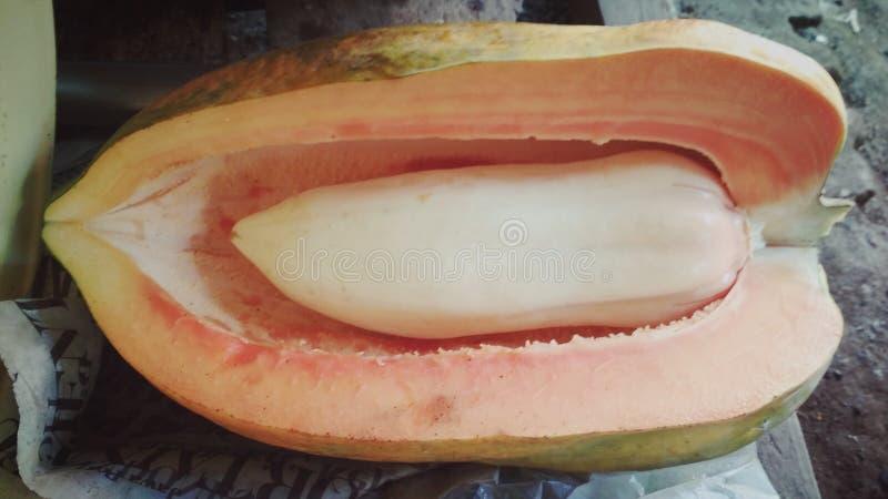 papaye étrange images stock