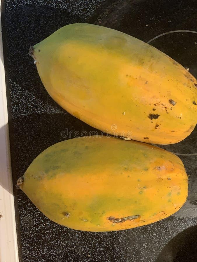 Papaye organique photos stock