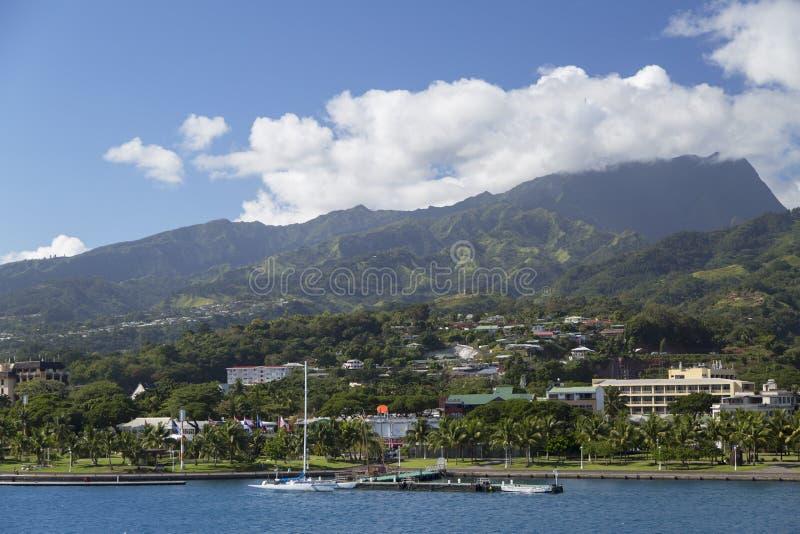Pape'ete, Ταϊτή, γαλλική Πολυνησία στοκ φωτογραφία με δικαίωμα ελεύθερης χρήσης