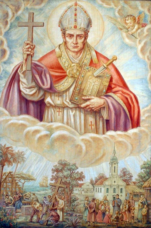 Pape St Boniface IV photographie stock libre de droits