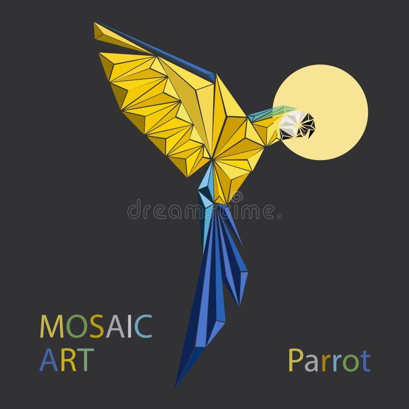Papegojafläck vektor illustrationer