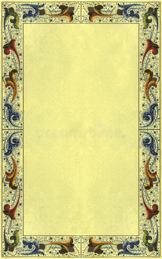 Papel 2 do vintage imagens de stock royalty free