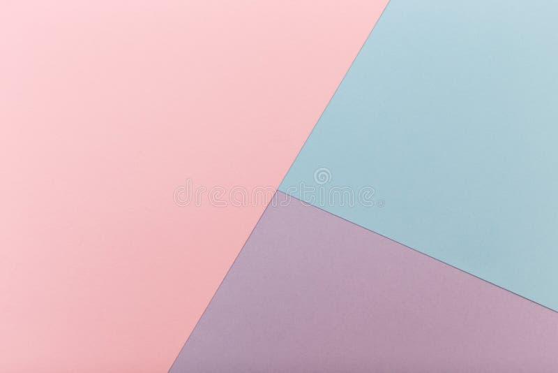 Papel abstracto del color fotografía de archivo libre de regalías