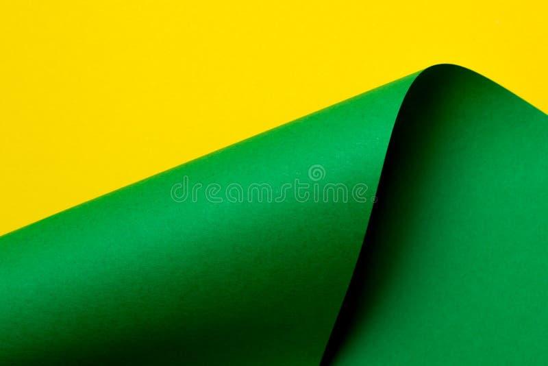 Papel abstrato da cor em formas geométricas imagem de stock