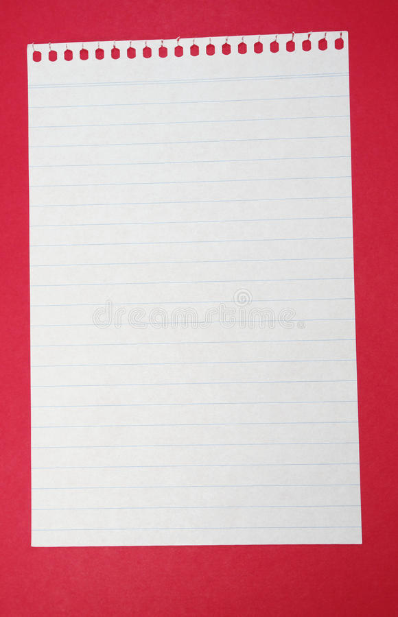 Papel alineado imagen de archivo