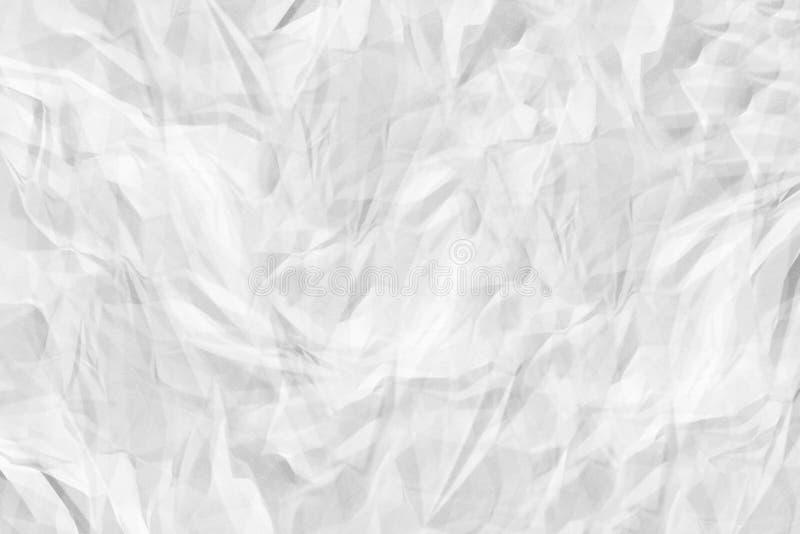 Papel-alto fondo blanco arrugado de la calidad para el sitio, texturizando fotografía de archivo