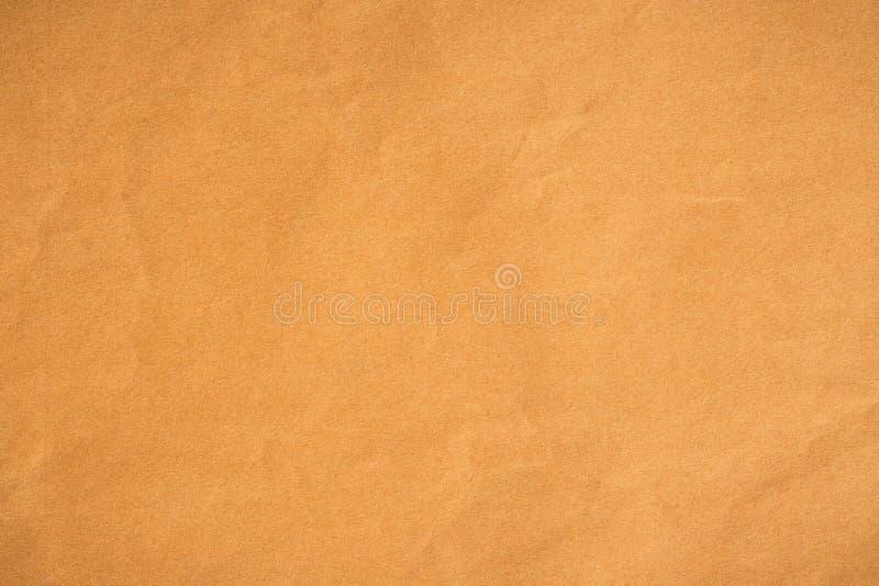 Papel amarelo para o fundo, textura abstrata do papel f fotos de stock royalty free