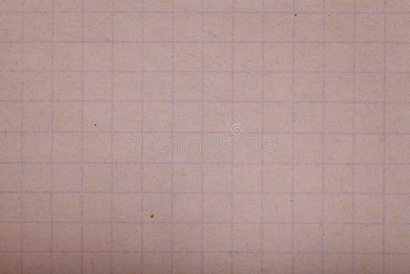 Papel amarilleado viejo vintage de la textura, papeles fotos de archivo