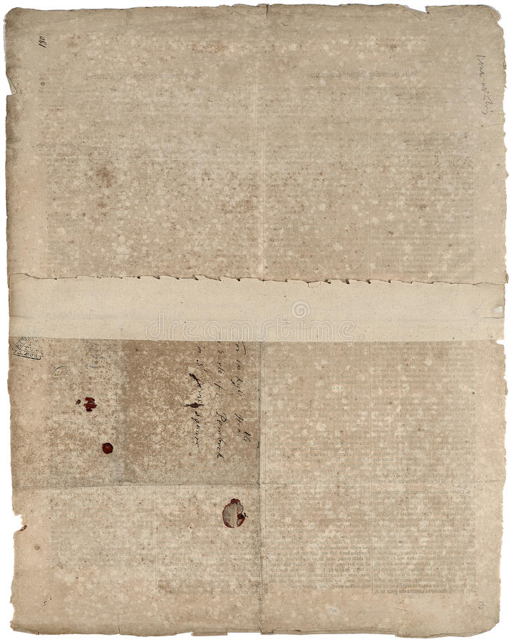 Papel antiguo inmóvil viejo stock de ilustración