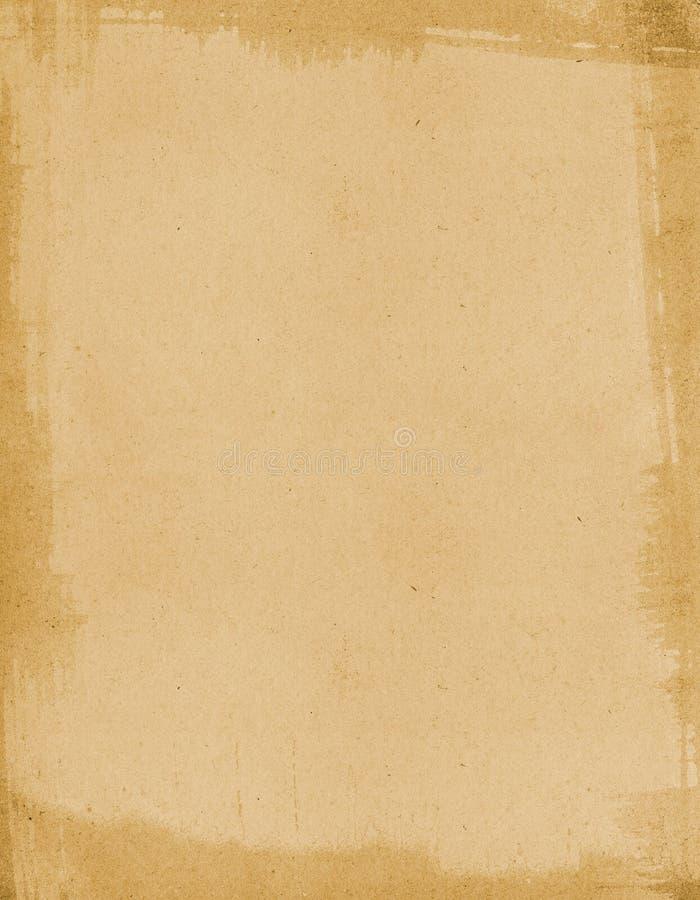 Papel aplicado con brocha envejecido ilustración del vector