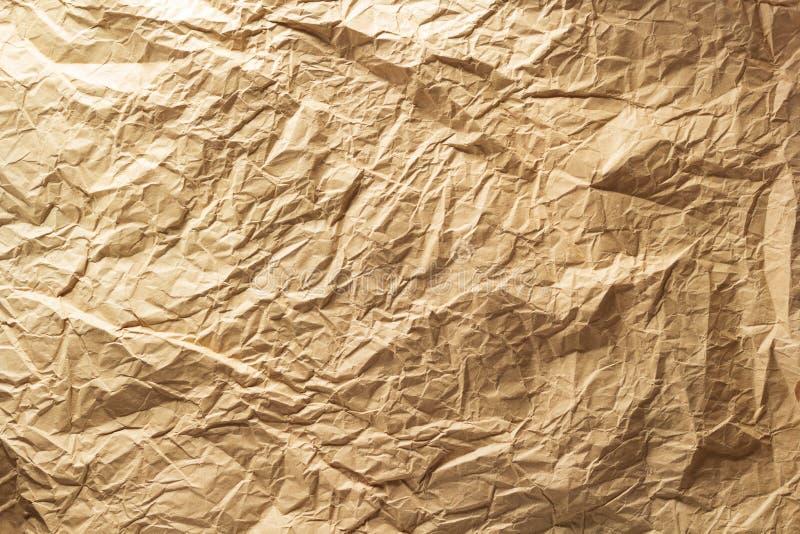 Papel arrugado como fondo foto de archivo libre de regalías