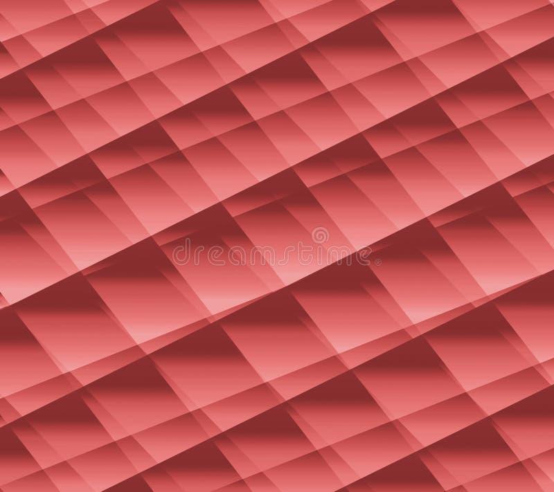 Papel arrugado decorativo efectos 3D Papel elegante del tono del melocotón Bueno para los saludos, las tarjetas del deseo y las i libre illustration