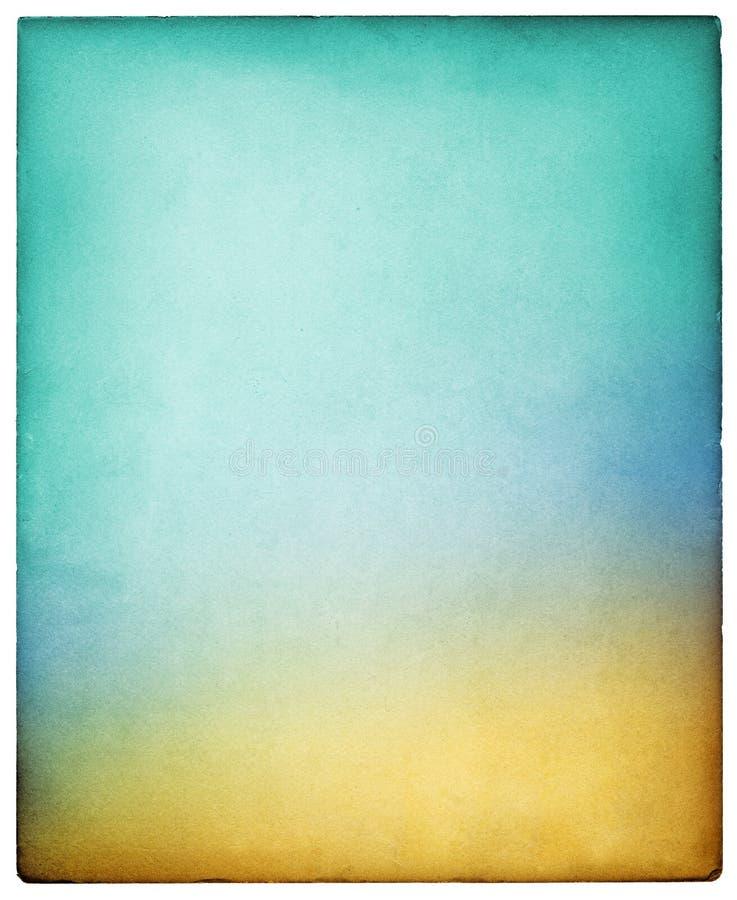 Papel colorido do vintage fotografia de stock