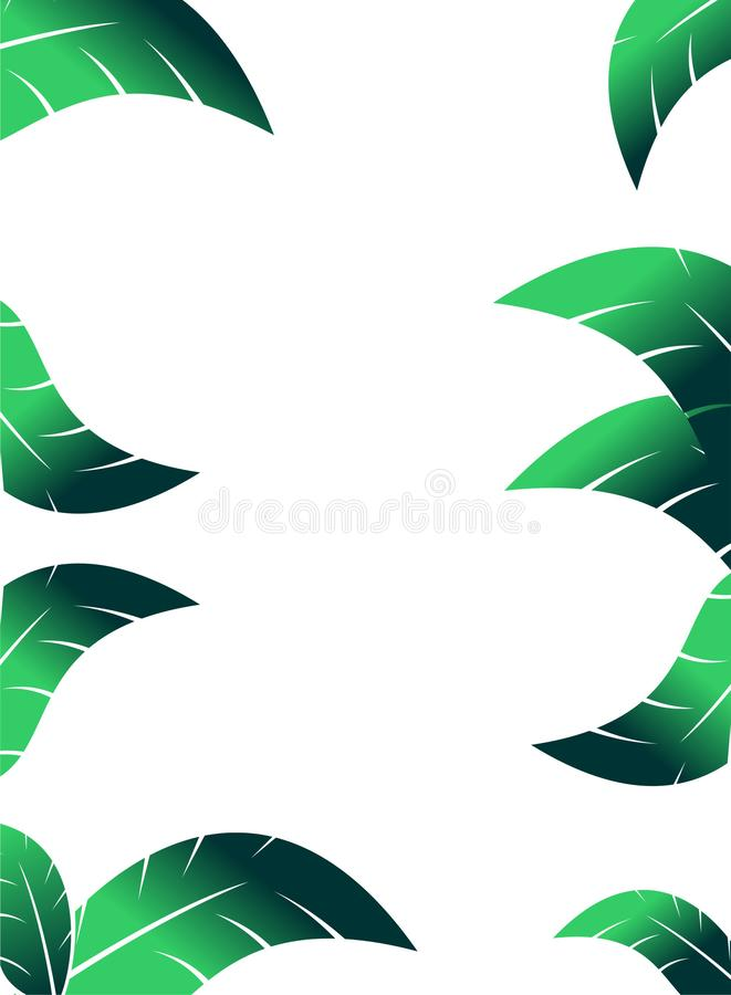 Papel como fondo para hacer su tarjeta de presentación o aviador ilustración del vector